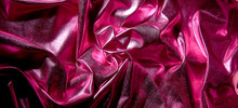 Close Up Of Satin Fabric