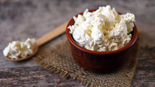 Fresh Homemade Cottage Cheese ...