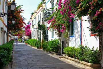 hiszpańska uliczka nadmorska