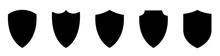 Shield Icons Set. Shield Shape...