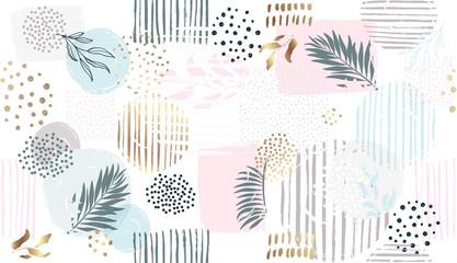 FototapetaSeamless floral pattern. Vector hand draw