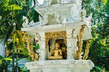 Statue Of Buddha, Chiang Mai, Thailand, Southeast Asia