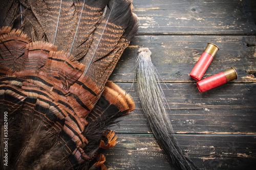 Fotomural Eastern Wild Turkey Hunting Background