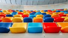 Multicolored Seats , Multicolo...