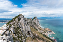 Panoramic View Of Sea And Moun...