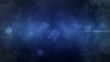 Space Smoke Particle Flight Fading 4K Loop features a camera view flying into smoke and particles in a blue atmosphere in a seamless loop