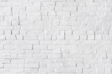 White Painted Beautiful Brick Wall