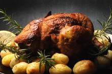 Pollo Arrosto Con Le Patate Po...