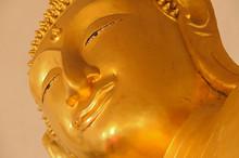 "Lord Buddha Statue  Wat Paramai Yikawat Or ""Pak Pak Temple Pak Kred District Nonthaburi Province, Bangkok Thailand"