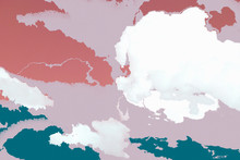Colorful Cloudy Textured Background