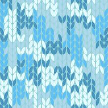 Knitting Melange Camo Texture....