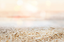 Sunset Beach Product Background