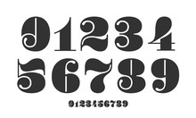 Number Font. Font Of Numbers I...