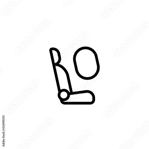 Photo Airbag icon