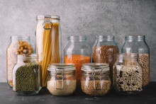 Grocery Products In Glass Jars...