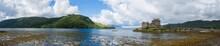 Loch Duich Lake Panorama