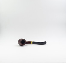 Old, Used Wooden Tobacco Pipe, Isolated