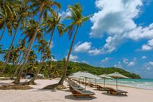 Bai Sao Beach, Turquoise Sea  ...