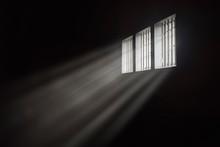 Beams Of Light Through A Barre...
