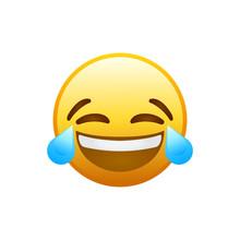 Laughing Social Media Emoji. V...