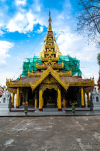 Ancient Pagoda In Phra Kaew Do...