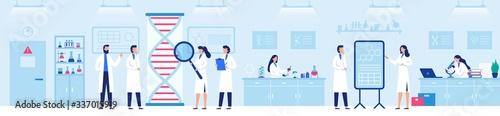 Fotografia Genetic research laboratory