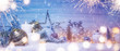 Christmas and New Year holidays background.