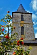 Clocher De L'église De Lubersac (Corrèze)