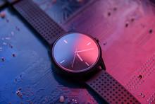 Smart Watch With Analog Displa...