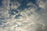 Fototapeta Na sufit - niebo z chmurami