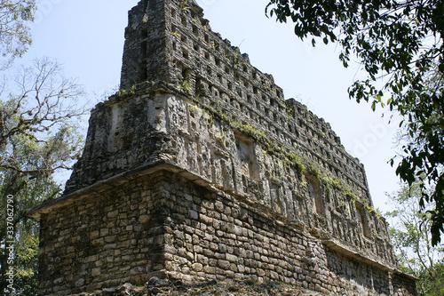 Yaxchilán Zona Arqueológica, Ruinas Mayas en Chiapas Fototapeta