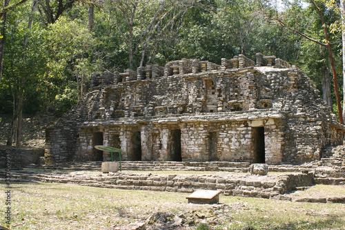 Fotografia Yaxchilán Zona Arqueológica, Ruinas Mayas en Chiapas