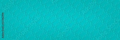 Fotografering Abstract light blue background with texture pattern of faint detailed overlappin
