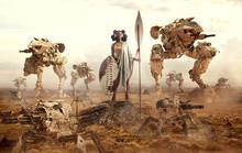 Warrior Queen - Afrofuturism