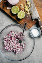 Chopped Red Onion