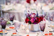 Elegant Dining Event Space Setup