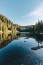 A Beautiful Lake Near Mount Hood