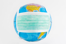 Earth Globe With Mask