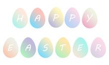 Pastel Gradient Easter Colorfu...