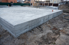New House Concrete Basis In Ru...