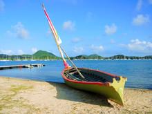 Classic Racing Sailing Boat Of...