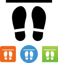 Shoe Print Social Distancing I...