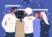 Online Party, Social Distancin...