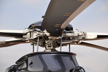 The Propeller Of The Helicopter
