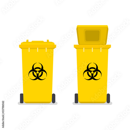 Medical waste bin Tapéta, Fotótapéta
