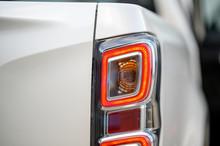 Close Up Photo Modern Car Tail Lights