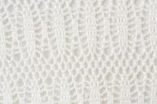 White Crochet Background