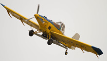 An Old Yellow Airplane
