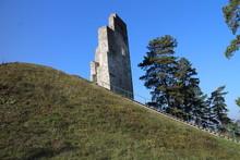 Dobra Niva Castle In Podzamcok  In Central Slovakia