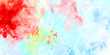 Brushed Painted Abstract Background. Brush stroked painting. Artistic vibrant and colorful wallpaper..